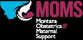 Logo for Montana Obstetrics & Maternal Support (MOMS)